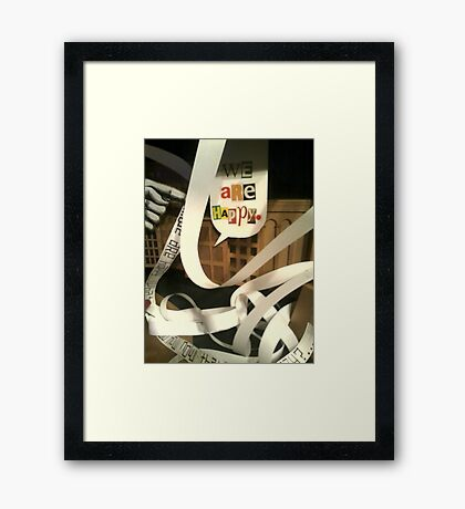 Cell 4 Stage 4 Framed Print