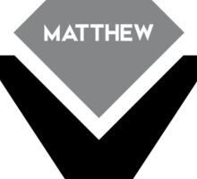 american first name male: Matthew Sticker