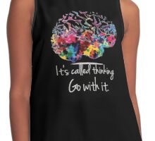 Grey's Anatomy-quote Contrast Tank