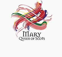Mary Queen of Scots - Prefer your gift on Black/White tell us at info@tangledtartan.com  Unisex T-Shirt