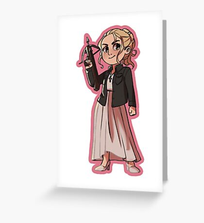 Buffy Summers (Season 1) Greeting Card