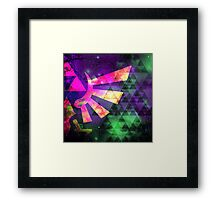 Hyrule Cosmos Framed Print