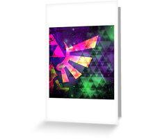 Hyrule Cosmos Greeting Card
