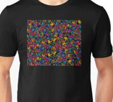 Winding Curls of Psychedelic Twisting Wind Unisex T-Shirt