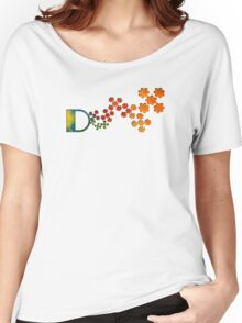 The Name Game - The Letter D Women's Relaxed Fit T-Shirt