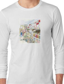 Lolly shop Candy Store Sweet shop Long Sleeve T-Shirt