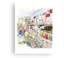 Lolly shop Candy Store Canvas Print