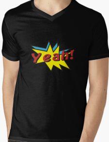 Yeah comic Mens V-Neck T-Shirt