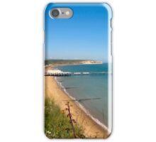 Sandown Bay with Pier. iPhone Case/Skin