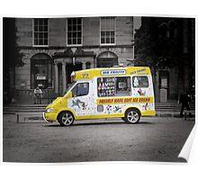 Mr Frosty's Ice Cream Van Poster