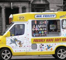 Mr Frosty's Ice Cream Van Sticker