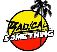 Radical Something Logo Tee by m88m8m80