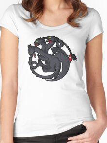 Toothless Targaryen Women's Fitted Scoop T-Shirt