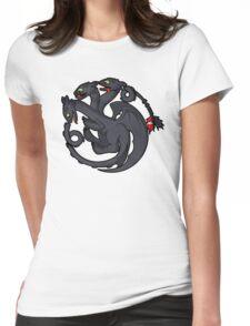 Toothless Targaryen Womens Fitted T-Shirt