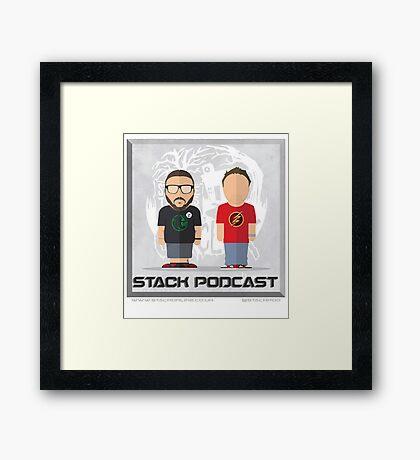 STACK Jim & Jon Artwork Framed Print