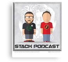 STACK Jim & Jon Artwork Canvas Print