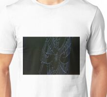Morning Web on the Highway Unisex T-Shirt