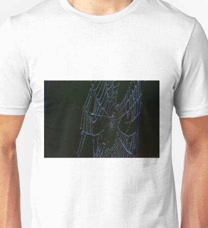 Morning Web on the Highway Unisex T-Shirt