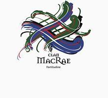 Clan MacRae - Prefer your gift on Black/White tell us at info@tangledtartan.com  Unisex T-Shirt