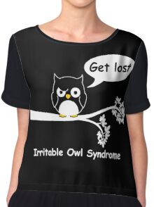 Irritable Owl syndrome Chiffon Top