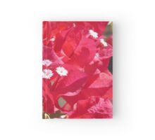 Red Bougainvillea Hardcover Journal