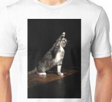 Overdramatic cat Unisex T-Shirt
