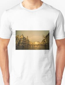 Rainbow over Le Grand Place  Unisex T-Shirt