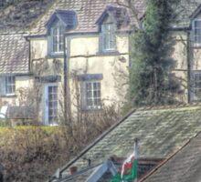 Welsh Cottage Sticker