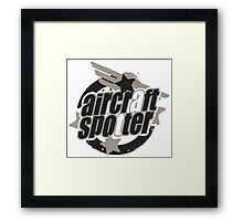 Aviation Spotter Framed Print