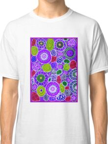 """""""PURPLE HAZE"""" Colorful Abstract Colorful Print Classic T-Shirt"""