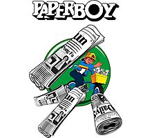 PAPERBOY RETRO ARCADE GAME Photographic Print