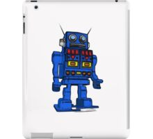 Blu Bot White iPad Case/Skin