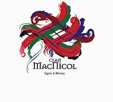 Clan MacNicol - Prefer your gift on Black/White tell us at info@tangledtartan.com  Unisex T-Shirt