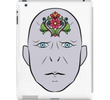 Floral Voldemort iPad Case/Skin