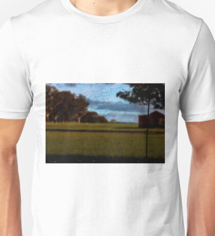 Looking Through the Web Unisex T-Shirt