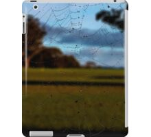 Looking Through the Web iPad Case/Skin