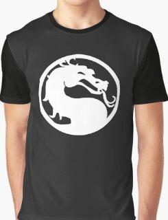 White Dragon Graphic T-Shirt