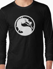 White Dragon Long Sleeve T-Shirt