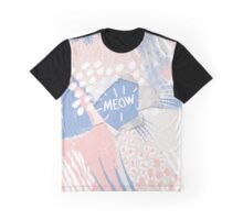 meow Graphic T-Shirt
