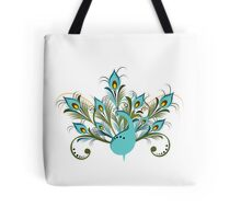 Just a Peacock - Tee Tote Bag