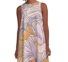 Sun Blossoms A-Line Dress