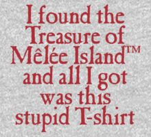 Monkey Island - Lost Treasure of Melee Island One Piece - Short Sleeve