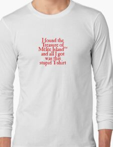 Monkey Island - Lost Treasure of Melee Island Long Sleeve T-Shirt