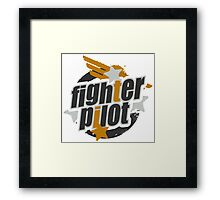 Fighter Pilot Framed Print