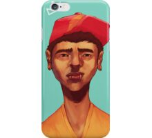 Boy in Blue iPhone Case/Skin