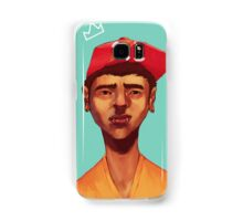 Boy in Blue Samsung Galaxy Case/Skin