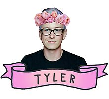 Tyler Oakley  Photographic Print