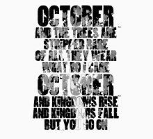 u2 October Unisex T-Shirt