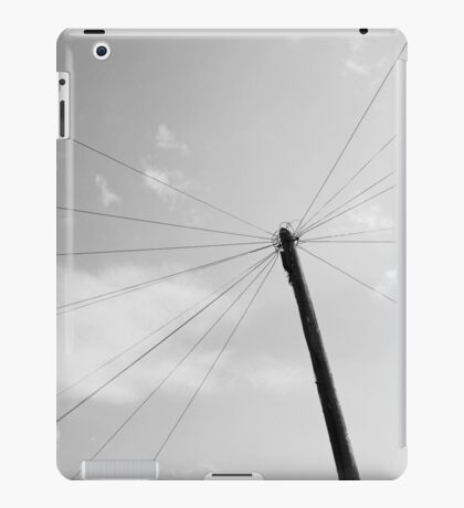 Power pole 1 iPad Case/Skin
