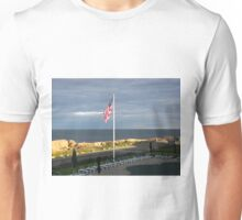 The Old Glory & The Sea ~ Happy 4th Unisex T-Shirt